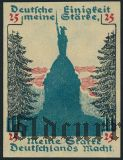 Детмольд (Detmold), 25 пфеннингов 1920 года
