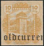 Линц (Linz), 10 пфеннингов 1920 года. Вар. 1
