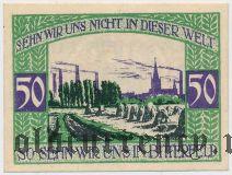 Биттерфельд (Bitterfeld), 50 пфеннингов 1920 года