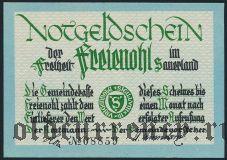 Фрайеноль (Freienohl), 75 пфеннингов