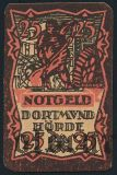 Дортмунд Хёрде (Dortmund und Hörde), 25 пфеннингов 1920 года