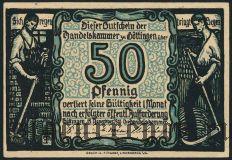 Гёттинген (Göttingen), 50 пфеннингов 1920 года