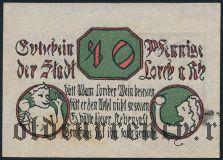 Лорх (Lorch), 10 пфеннингов 1920 года