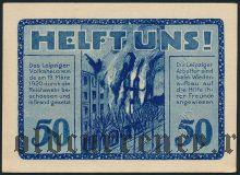 Лейпциг (Leipzig), 50 пфеннингов 1920 года. Вар. 4