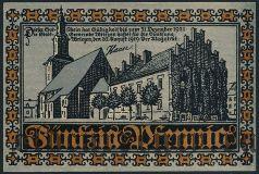 Врицен (Wriezen), 50 пфеннингов 1919 года