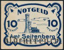 Зейтенберг (Seitenberg), 10 пфеннингов