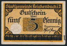 Райхенбах-им-Фогтланд (Reichenbach i. V.), 5 пфеннингов