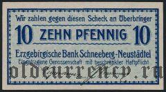 Шнеберг-Нойштадт (Schneeberg-Neustädtel), 10 пфеннингов