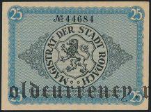 Родах (Rodach), 25 пфеннингов 1920 года
