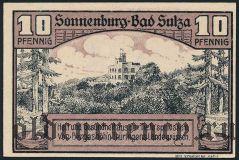 Бад-Зульца (Bad Sulza), 10 пфеннингов 1920 года