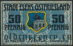 Эзенс (Esens), 50 пфеннингов