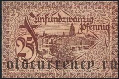 Франкфурт-на-Майне (Frankfurt am Main), 25 пфеннингов 1919 года