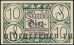 Диц (Diez), 10 пфеннингов 1920 года
