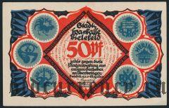 Билефельд (Bielefeld), 50 пфеннингов 1921 года. Вар. 2