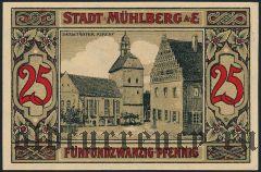 Мюльберг (Mühlberg), 25 пфеннингов 1921 года