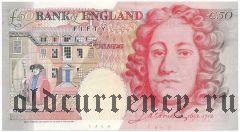 Великобритания, 50 фунтов 1994 года