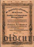 Deutschen Centralbodenkredit, Berlin, 4% Pfandbrief, 100 reichsmark 1940.