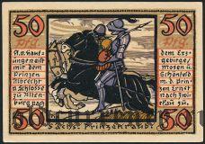 Альтенбург (Altenburg), 50 пфеннингов 1921 года. Вар. 2
