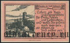 Лобенштайн (Lobenstein), 10 пфеннингов 1919 года