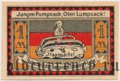 Тондорф-Лоэ (Tonndorf-Lohe), 1 марка 1921 года