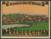 Браунлаге (Braunlage), 25 пфеннингов 1921 года