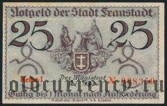 Фрауштадт (Fraustadt), 25 пфеннингов