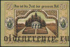 Штадтленгсфельд (Stadtlengsfeld), 50 пфеннингов 1919 года. Вар. 1