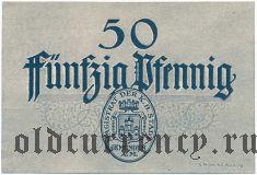 Гемюнден (Gemünden), 50 пфеннингов 1920 года