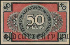 Билефельд (Bielefeld), 50 пфеннингов 1918 года