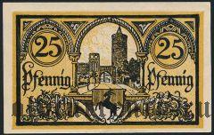 Йютербог (Jüterbog), 25 пфеннингов 1920 года