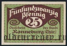 Роннебург (Ronneburg), 25 пфеннингов 1920 года