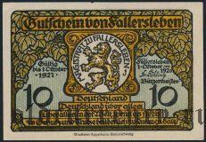 Фаллерслебен (Fallersleben), 10 пфеннингов 1920 года