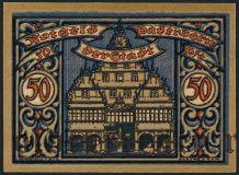 Падерборн (Paderborn), 50 пфеннингов 1920 года