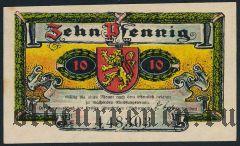 Альтенкирхен (Altenkirchen), 10 пфеннингов 1921 года