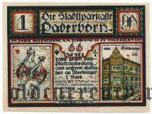 Падерборн (Paderborn), 1 марка 1921 года