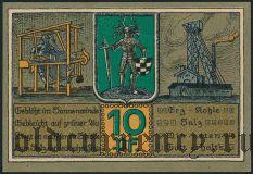 Блайхероде (Bleicherode), 10 пфеннингов 1921 года