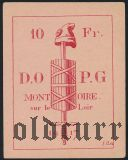 Франция, Montoire, 10 франков 1917 года