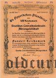 Deutschen Centralbodenkredit, Berlin, 4% Pfandbrief, 100 reichsmark 1942.