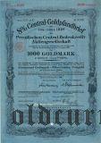 Deutschen Centralbodenkredit, Berlin, 8% Goldpfandbrief, 1000 reichsmark 1928.