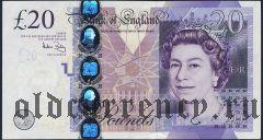 Великобритания, 20 фунтов 2006 года