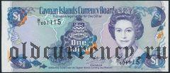 Каймановы Острова, 1 доллар 1996 года