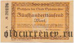 Опладен (Opladen), 500.000 марок 1923 года