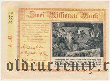 Леннеп (Lennep), 2.000.000 марок 1923 года. Серия: А