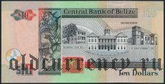 Белиз, 10 долларов 2001 года