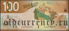 Канада, 100 долларов 2004 года