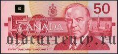 Канада, 50 долларов 1988 года