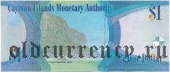 Каймановы Острова, 1 доллар 2018 года