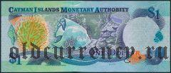 Каймановы Острова, 1 доллар 2003 года