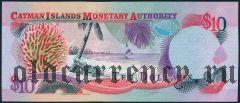 Каймановы Острова, 10 долларов 2001 года
