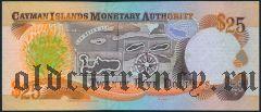 Каймановы Острова, 25 долларов 2003 года